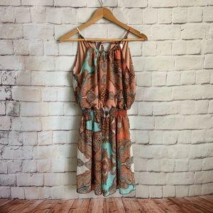 Sweet Storm Dress, High Neck, Sleeveless Women's M